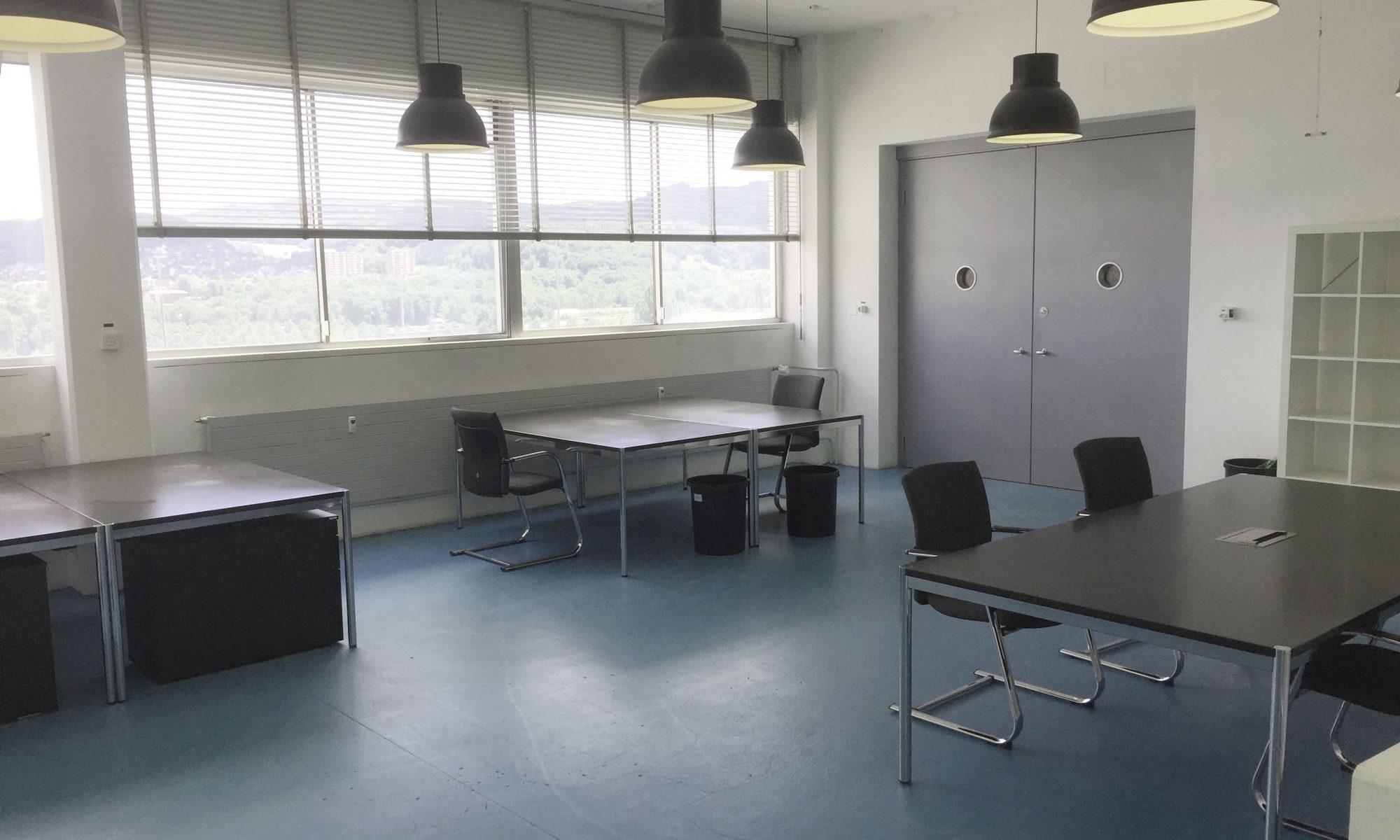 O0ffener Büroraum bei incubale im coworking-basel